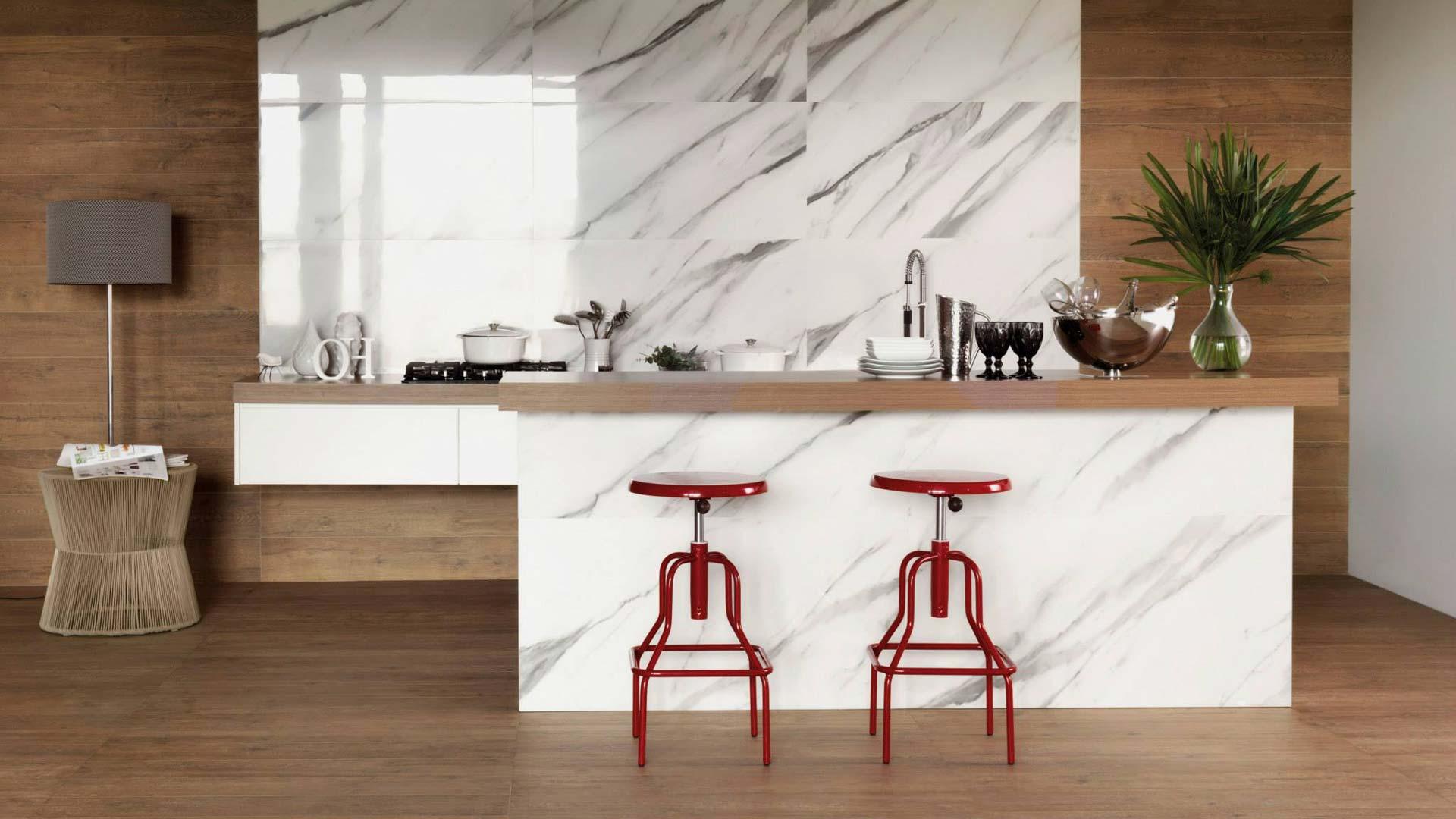 Contemporary Tile Interior Design Inspiration Lookbook Kitchen