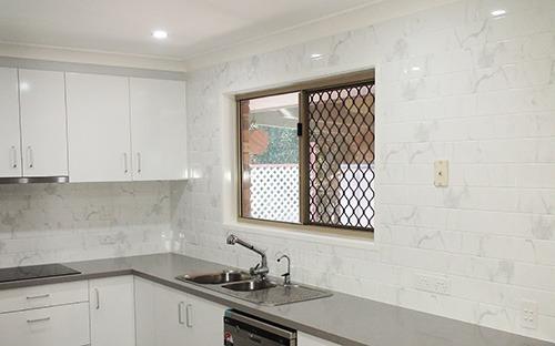 Carrara Marble Gloss Wall Tile 100x400mm Why Not Tiles