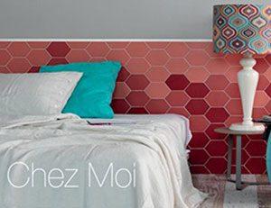 Chez Moi Coquelicot Wall Tile