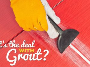 To grout or not to grout