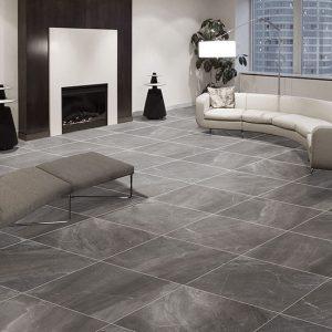 Majorelle Anthracite Internal floor tile 450x450mm