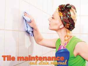 Tile Maintenance & Stain Removal