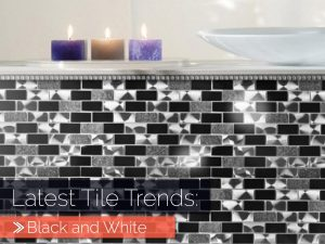 Latest Tile Trends: Black and White