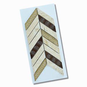 Civili Maya Chevron Wall Feature Tile 280x285mm