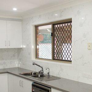 Carrara Marble Gloss Wall Tile 100x400mm