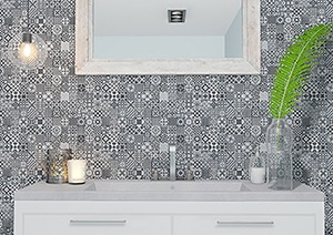 Deco Heritage Mixed Wall Tile 300x600mm