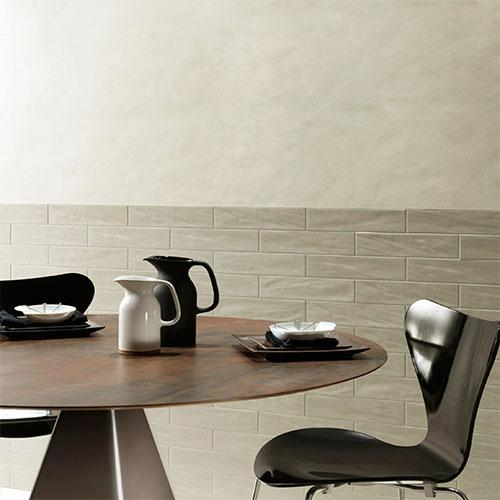 Pasha Earth Gloss Wall Tile 75x300mm