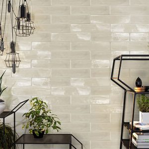 Pasha Mist Gloss Wall Tile 75x300mm