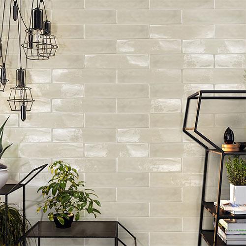 Pasha Mist Gloss Wall Tile 75x300mm
