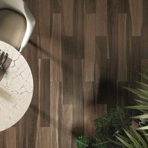 Indonesian Wood brown floor tle 150x900mm