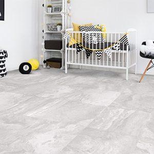 Travertine Grey Satin Internal Floor Tile 600x600mm