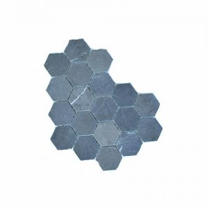 Hex Pietra Grey Feature Tile 305x305mm