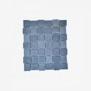 Basket Weave Pietra Grey Mosaic TIle 305x305mm
