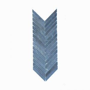 Chevron Pietra Grey Mosaic Tile 305x305mm