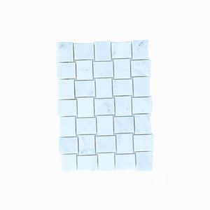 Basket Weave Carrara Mosaic Tile 305x305mm