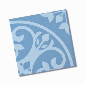 Picasso Norway Blue Internal Floor Tile 200x200mm