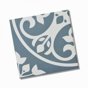 Picasso Norway Teal Internal Floor Tile 200x200mm