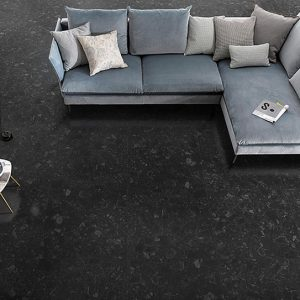 Terrazzo Nero Matt Internal Floor Tile600x600mm