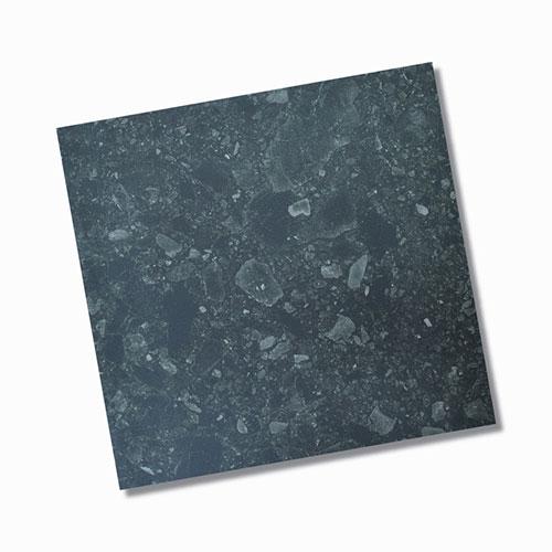 Terrazzo Nero Matt Internal Floor Tile 600x600mm