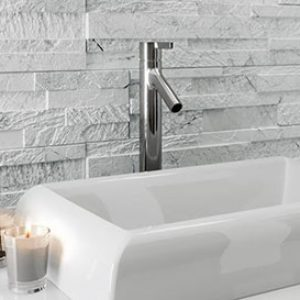 Gioi Bianco Bookleaf Wall Feature Tile 150x610mm