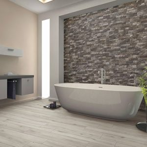 Gioi Greige Bookleaf Wall Feature Tile 150x610mm