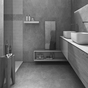 Bora Light Grey Matt Floor Tile 600x600mm