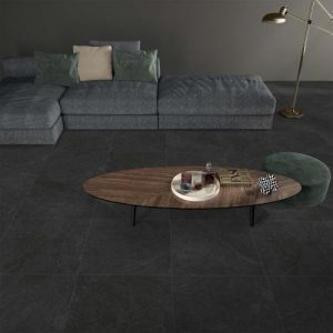 Homeland Charcoal Lappato Floor Tile 450x450mm