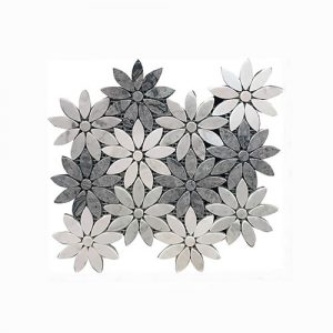 Greystone Daisy Interlocking Feature Tile 265x290mm