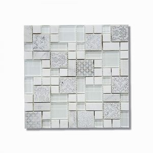 Heritage Perla Mosaic Feature Tile 300x300mm