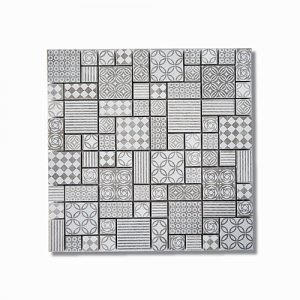 Signs Gris Mosaic Sheet 300x300mm