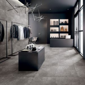 Paradigm Grey Matt Floor Tile 600x600mm