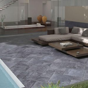 Bluestone Modular French Pattern Tile