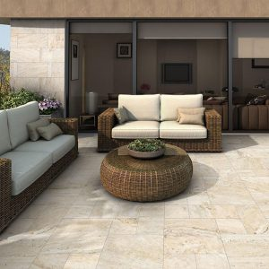 Siena Beige Modular French Pattern Tile