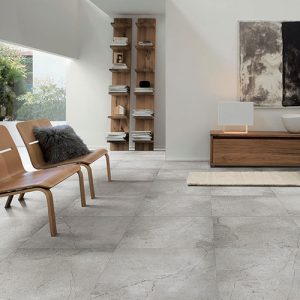 Stein Grey Matt Floor Tile 600x600mm