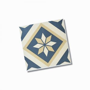 Ceilo Pattern Matt Floor Tile 200x200mm