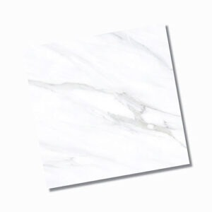 Lux White Polished Floor Tile 600x600mm