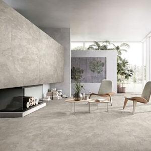 New Travertine Beige Matt Floor Tile 600x600mm