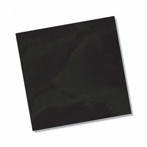 Thor Black Matt Floor Tile 450x450mm