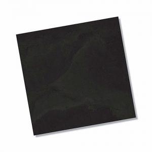Thor Black Matt Floor Tile 450x450mm