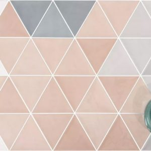 3 Lati Rosa Wall Tile 132x114mm