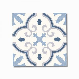 Monte Carlo Blue Floor Tile 250x250mm