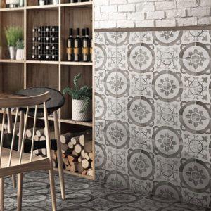 DaVinci Florentine Matt Floor Tile 200x200mm