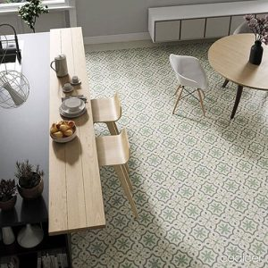 Monte Carlo Green Floor Tile 250x250mm