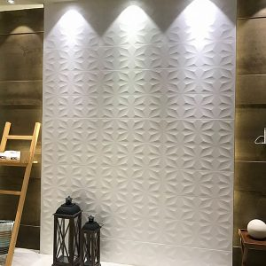Textured White Matt Wall TIle 270x730mm