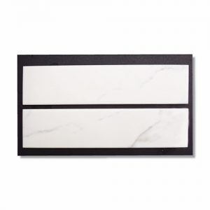 Calacatta Subway Tile 70x300mm