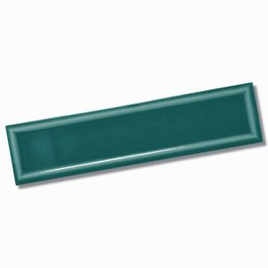 Edge Frame Dark Green Gloss Wall Tile 68x280mm