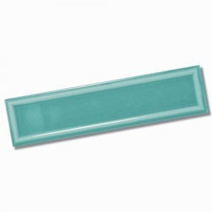 Edge Frame Light Green Gloss Wall Tile 68x280mm