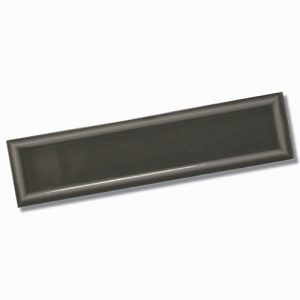 Edge Frame Dark Grey Gloss Wall Tile 68x280mm