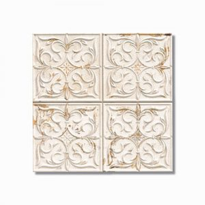 Antigua Lis White Wall Tile 333x333mm