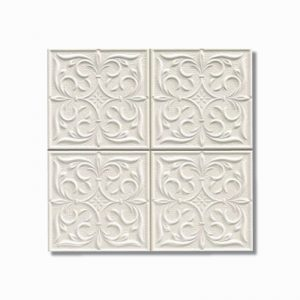 Muse Lis White Wall Tile 200x200mm